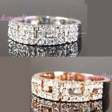 Unbranded White Gold Wedding Costume Rings