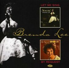 Brenda Lee - Let Me Sing / By Request [New CD] UK - Import