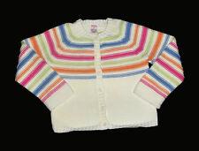 Gymboree Sweet Cupcake White Cardigan Sweater Size 4