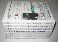 Charles Chaplin Collection MONSIEUR VERDOUX TEMPI MODERNI LA DONNA DI PARIGI dvd