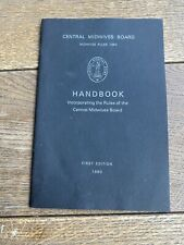 More details for central midwives board rules 1980 first edition handbook incorporating the rules