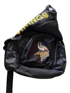 Licensed NFL Minnesota Viking LARGE Slingshot Sling Backpack  MSP $49