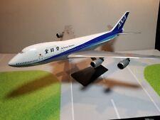 FLIGHT MINATURE ALL NIPPON AIRWAYS 747-200 1:250 SCALE PLASTIC SNAPFIT MODEL