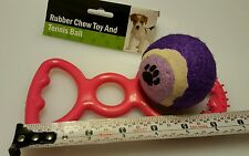 Dog fetch toy 2 pc set