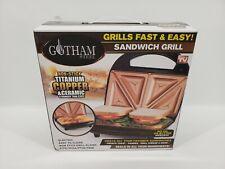 New ListingGotham Steel Nonstick Portable Sandwich Maker & Panini Grill –As Seen on Tv! New