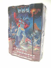 Transformers G1 Figure JUMBO Collectors CASE w Weapon Storage and Tray Cover