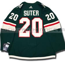 a4057b76d66 RYAN SUTER MINNESOTA WILD HOME AUTHENTIC PRO ADIDAS NHL JERSEY