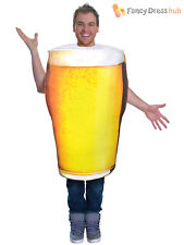 Bristol Novelty Ac779 Pint of Beer Costume One Size