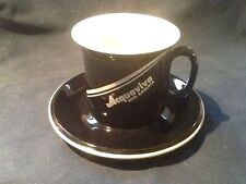 NEW! VINTAGE ACF ACQUAVIVA MIO BARISTA CAPPUCCINO CUP & SAUCER SET - ITALY