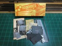 "Roundhouse B113 HO Scale RARE All Die-cast Metal 40' Box Car Kit ""MONON"""