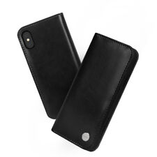 Moshi Overture Wallet Case for iPhone X - Charcoal Black