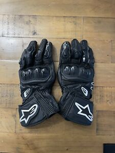 ALPINESTARS GP PLUS Leather Motorcycle / Motorbike Gloves SIZE X-LARGE / 11 -VGC