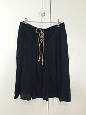 Country Road Knee-Length Solid 100% Cotton Skirts for Women