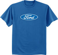 Ford logo T-shirt ford trucks mustang mopar racing gear mens tee