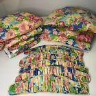 custom+curtain+set+color+pink+blue+floral+print+set+6+panels+and+tie+backs+lined