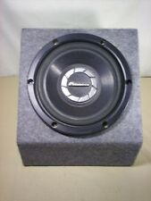 """PIONEER TS-W25M 10"""" SUBWOOFER With Box 500 Watts"""