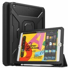 iPad 10.2 inch Armor Case 2019 Apple Full Body Cover Built-in Screen Protector