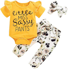 Toddler Girls Summer Clothes Letter Print Tops Flower Shorts Pants Cute Baby Gir