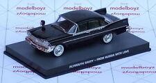James Bond Plymouth Contemporary Diecast Cars, Trucks & Vans