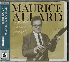 MAURICE ALLARD-BASSON CONCERTOS-JAPAN CD F30