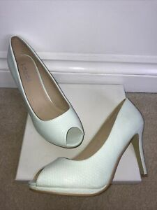 Brand New Shoes Court Peep-toe High Heels Stiletto Mint Green by Ideal Size 8/41
