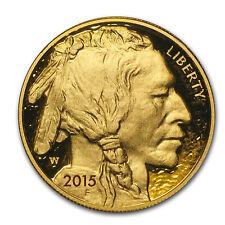 2015-W 1 oz Proof Gold Buffalo (w/Box & COA) - SKU #88359