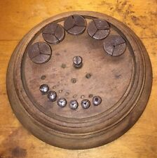 Set Of 12 Watchmakers Lathe 5mm Collets With Wood Stand Vintage