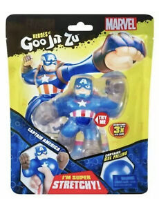 HEROES OF GOO JIT ZU MARVEL CAPTAIN AMERICA HERO PACK NEW
