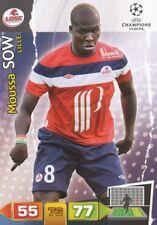 MOUSSA SOW SENEGAL LOSC LILLE CARD ADRENALYN CHAMPIONS LEAGUE 2012 PANINI