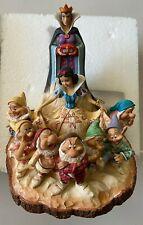 Disney Snow White & Seven Dwarfs Jim Shore Resin Figurine Statue NEW