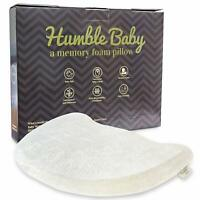 Humble Baby Head Shaping Memory Foam Pillow Soft Hypoallergenic Breathable