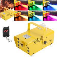 13 farben Nebelmaschine 700W Mit Funk Fernbedienung 6LED RGB Rauch Fernbedienung
