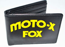 Fox Racing Mens Wallet name Hall of Fame Black Yellow