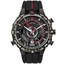 Timex Intelligent Quartz T2N720 Mens All Black Tide Temp Compass Watch £149.99