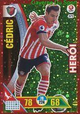 372 CEDRIC SOUTHAMPTON.FC HEROI CARTAO METAL CARD ADRENALYN LIGA 2017 PANINI