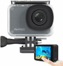AKASO V50 Pro Native 4K30fps 20MP WiFi Action Camera with EIS Touch Screen
