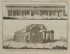 MONUMENTI ANTICO EGITTO ANCIENT EGYPT 1700 ARTE DEL COSTRUIRE COSTRUZIONE