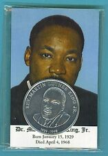 Dr. Martin Luther King Jr. Card and Coin