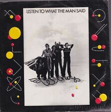 Paul McCartney & Wings Listen To What The Man Said USA 45 With Picture Sleeve
