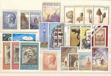 LU - LUXEMBOURG 1991 complete year set MNH