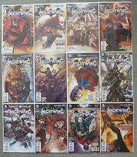 NIGHTWING #1-12 SET..KYLE HIGGINS..DC NEW 52..ALL 1ST PRINT..VFN+..BATMAN