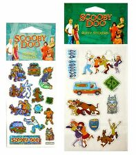 Scooby Doo Prismatic and Puffy Stickers - Exclusive