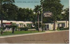 OLD PHOTO POSTCARD MidTown Motel Lake City FL US Hwy 41