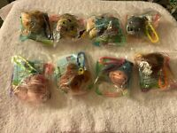 McDonald's Winnie the Pooh Happy Meal toys set (8) plush clip ons stuffed