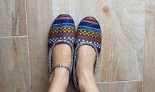 Pantofole ciabatte donna,ballerine pantofole da casa lavorate a mano handmade