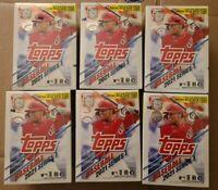 2021 Topps Baseball Series 1 Blaster Box Lot of 6