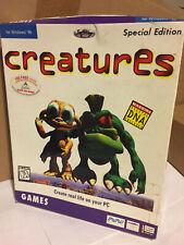 CREATURES MINDSCAPE WINDOWS 95 PC CD-ROM GAME Unopened Box