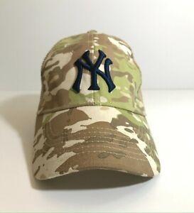 Budweiser Cap Hat Military Camo NY NEW YORK YANKEES Camouflage 2018 SGA - NEW