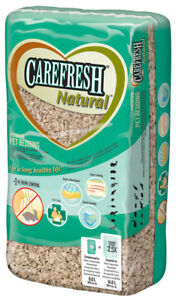 Carefresh Natural 14 Litre Bedding - Small Animal/Rabbit Reptile Paper Bedding