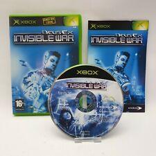 Deus Ex Invisible War Microsoft Xbox Original Game PAL UK Complete